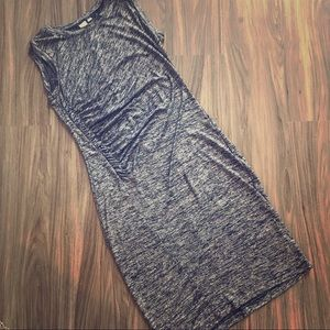Gap body-con dress with ruching